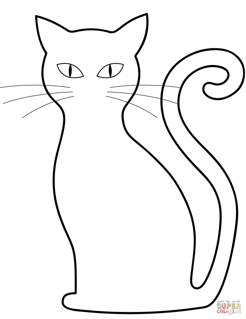 Shape Of Cat