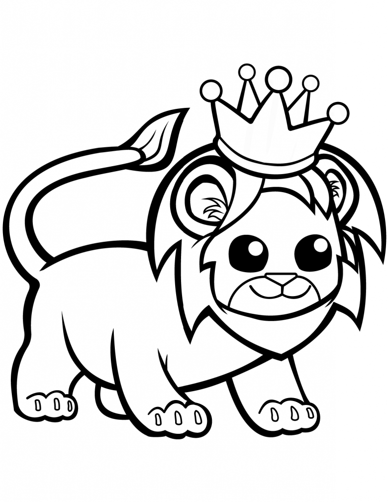 Lion In A Crown