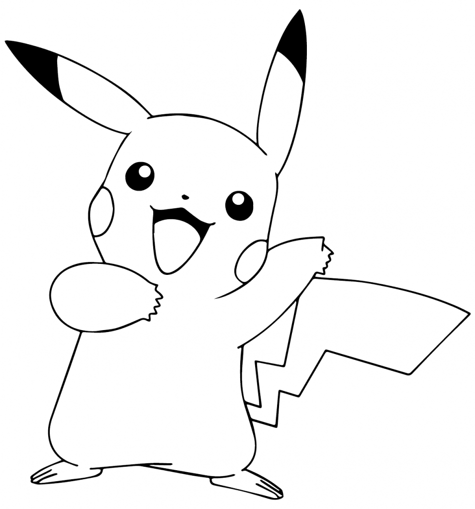 Happy Pikachu