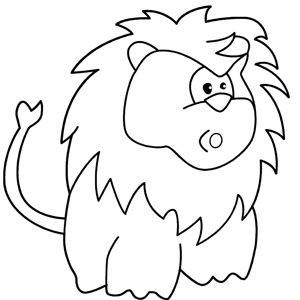 Ugly Fat Lion