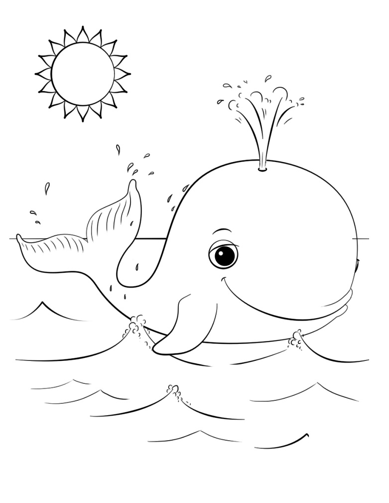 Happy Whale Under The Sun