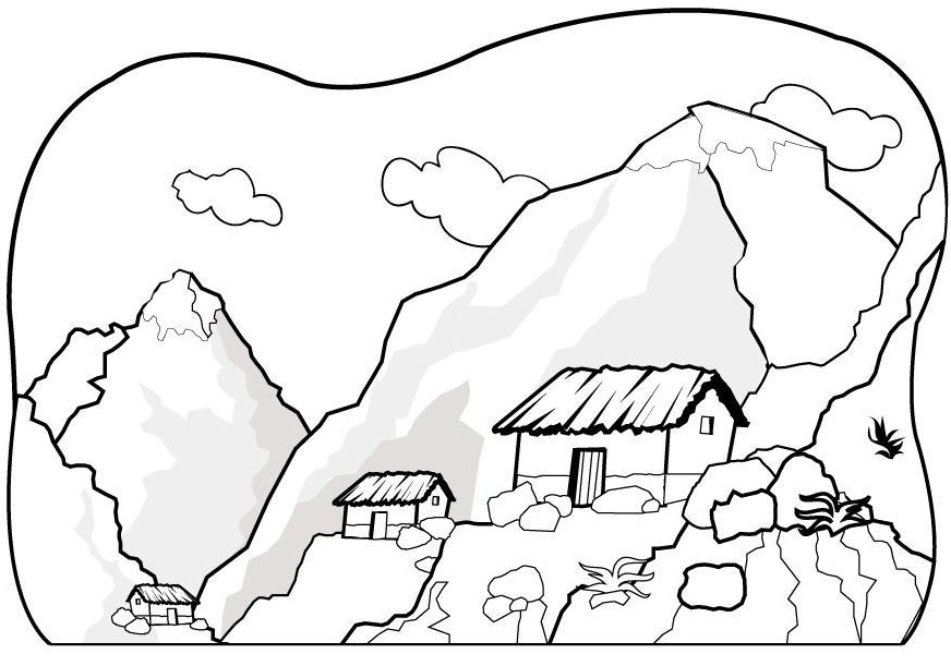 Small Mountain Village