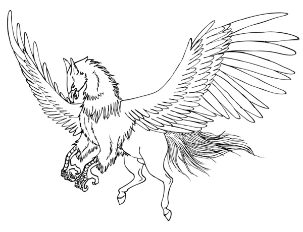 Isei the Hippogriff